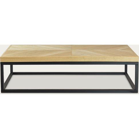 Light Brown Coffee Table Zig-Zag A-Ii Fct0280