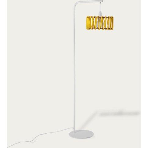 Yellow Macaron Floor Lamp D30