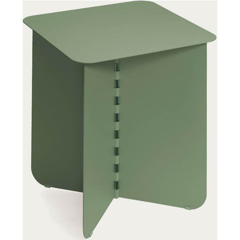Light Green Hinge Side Table Ii