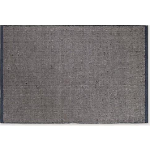 Blue-Grey Dune Rug Medium By Hem Design Studio