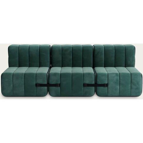 Green Curt Sofa System 6 Modules - Barcelona