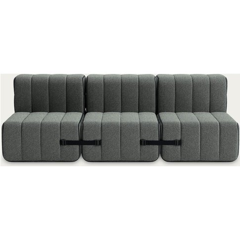 Grey Curt Sofa System 6 Modules - Sera