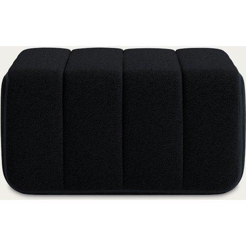 Black Curt Sofa Module - Sera