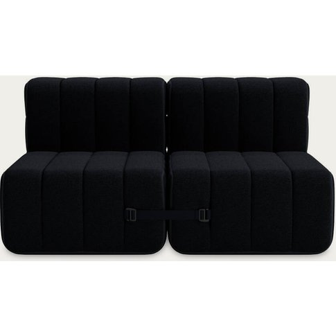 Black Curt Sofa System 4 Modules - Sera