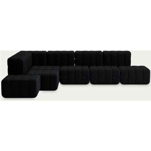 Black Curt Sofa System 12 Modules - Sera