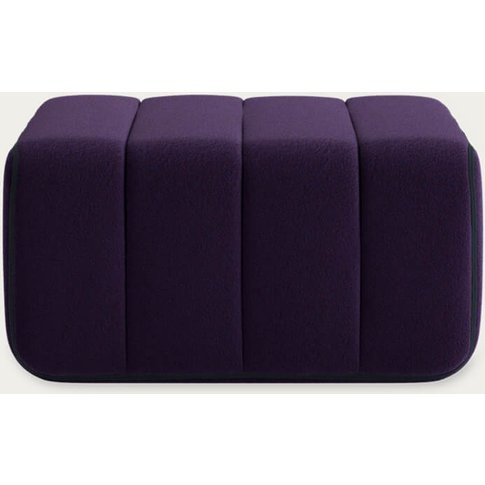 Purple Curt Sofa Module - Jet