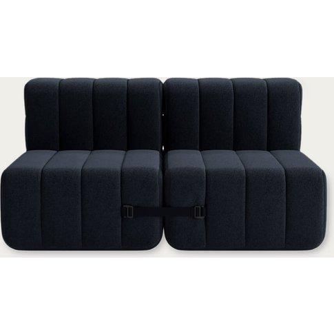 Dark Grey Curt Sofa System 4 Modules - Jet