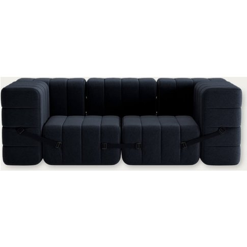 Dark Grey Curt Sofa System 7 Modules - Jet