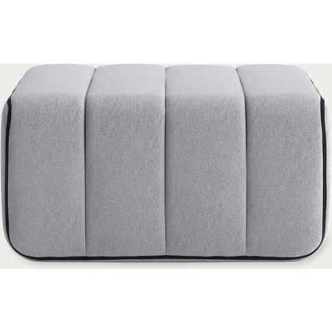 Grey Curt Sofa Module - Jet