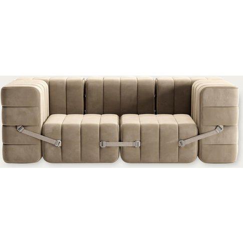 Brown Curt Sofa System 7 Modules - Barcelona