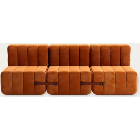 Red Curt Sofa System 6 Modules - Barcelona