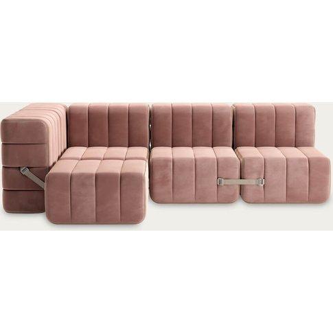 Rose Curt Sofa System 9 Modules - Barcelona