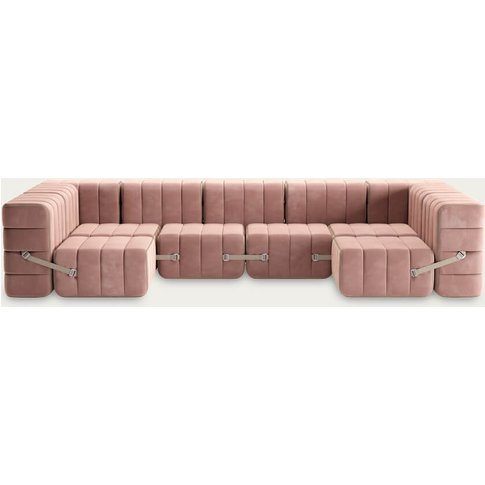 Rose Curt Sofa System 15 Modules - Barcelona