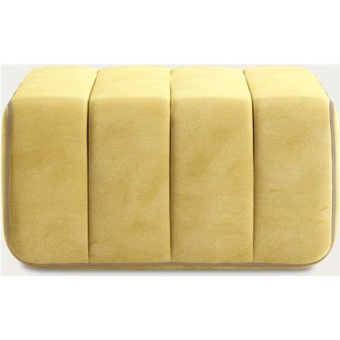 Yellow Curt Sofa Module - Barcelona