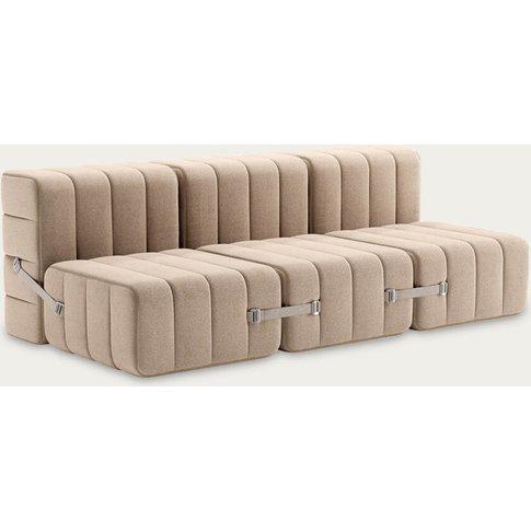 Beige Curt Sofa System 6 Modules - Dama