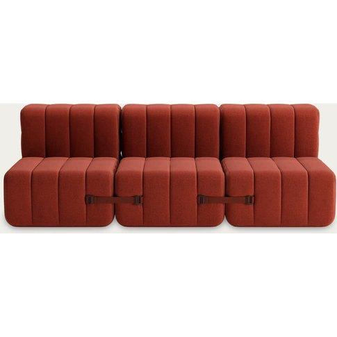 Red Curt Sofa System 6 Modules - Dama