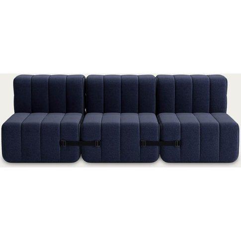 Dark Blue Curt Sofa System 6 Modules - Dama