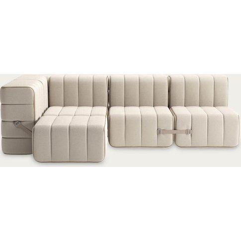 Beige Curt Sofa System 9 Modules - Sera