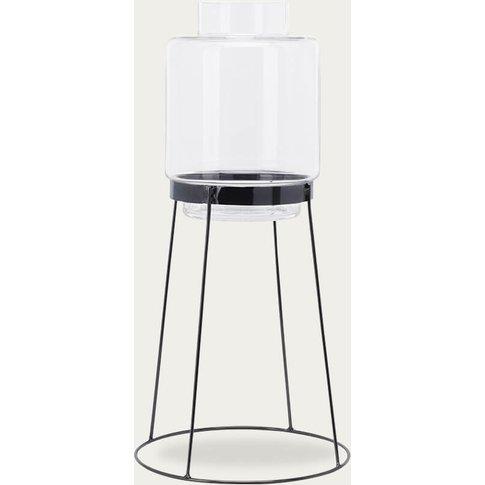Black Standard And Monday Vase