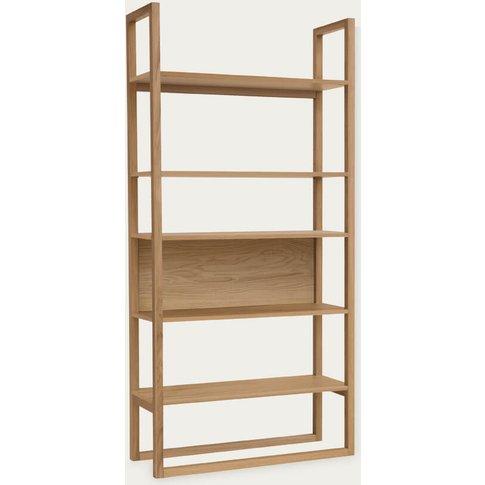 Oak Newest Bookcase