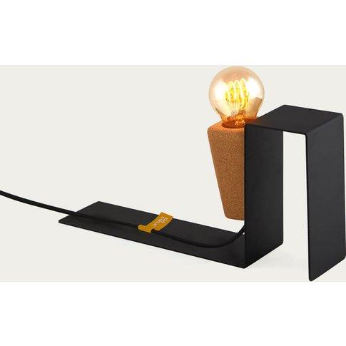 Black Base And Black Cable Glint #1 Desk Lamp