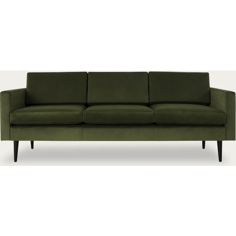 Vine Model 01 Velvet 3 Seater Sofa