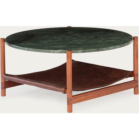 1.02 Green Circular Coffee Table