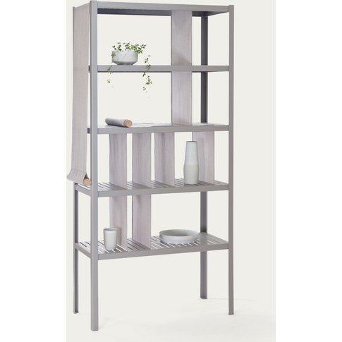 Divide 5 Platinum Grey Dressed Cabinet