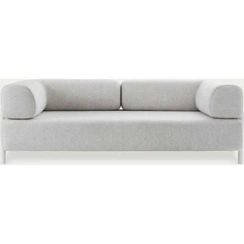 Chalk Palo Modular 2-Seater Sofa + Armrest