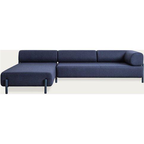 Dark Blue Palo Modular Corner Sofa Right