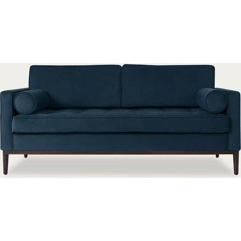 Teal Model 02 Velvet 2 Seater Sofa