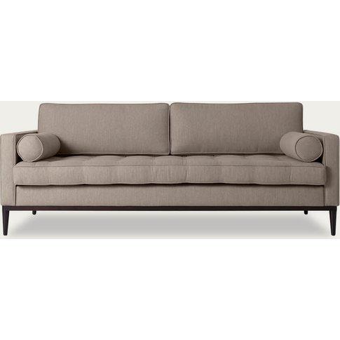 Pumice Model 02 Linen 3 Seater Sofa