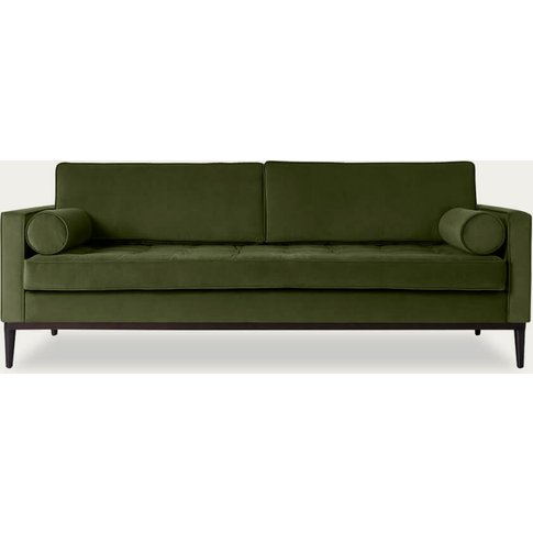 Vine Model 02 Velvet 3 Seater Sofa