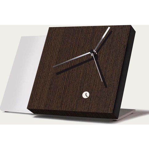 Wenge Wood Finished Tact Table Clock