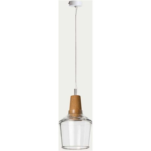 Clear Industrial 15/16p Ceiling Lamp