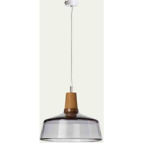 Anthracite Industrial 26/14p Ceiling Lamp