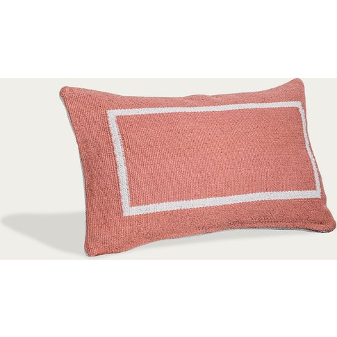 Jamakhan Line Handwoven Cushion