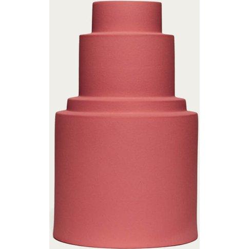 Red Velvet Vase L