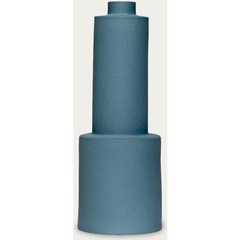 Dark Green Velvet Vase S