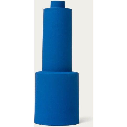 Blue Velvet Vase S