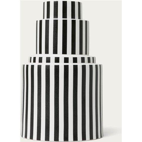 Vertical Stripes Vase L