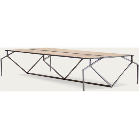 Steel Florence Parquet Oum Desk