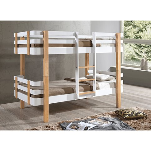 "Bedmaster Hudson Bunk Bed - Single (3' X 6'3"")"