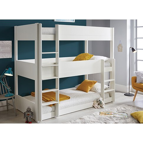 Bedmaster Snowdon Three Tier Bunk Bed - Single (3' X...