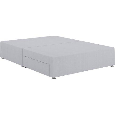 Relyon Contemporary Divan Bed Base - King Size (5' X...