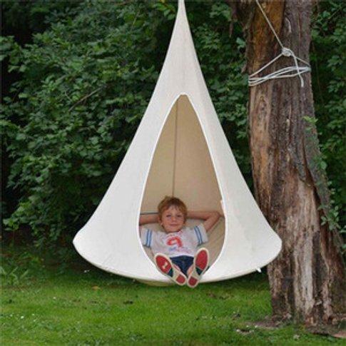 Double tree hanging hammock hanging chair outdoor tr...