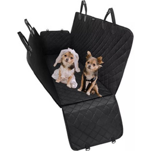 Car Dog Seat Covers Pet Mat With Adjustable Seat Anc...