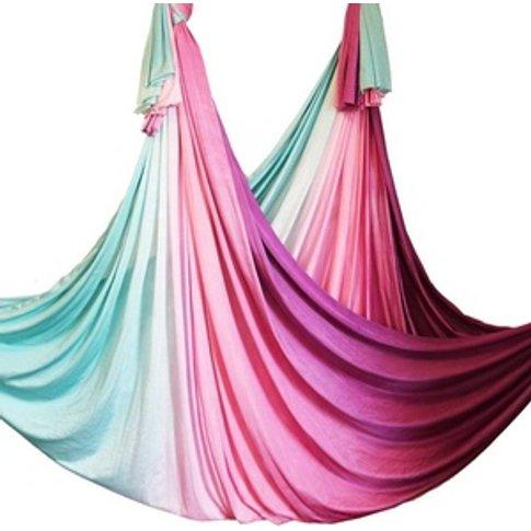 5m Piece Colorful aerial yoga hammock gradient aeria...