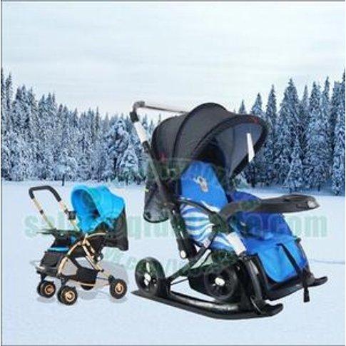 baby  stroller 3 in 1 ski stroller Rocking chair
