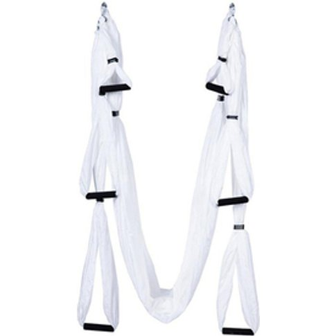 Yoga Hammock/Trapeze/Sling Kit + Extension Straps & ...
